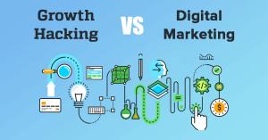 هک رشد در مقابل دیجیتال مارکتینگ