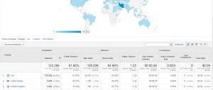 اطلاعات جغرافیایی در گوگل آنالیتیکس