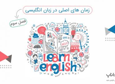 آموزش زمان های گذشته در زبان انگلیسی