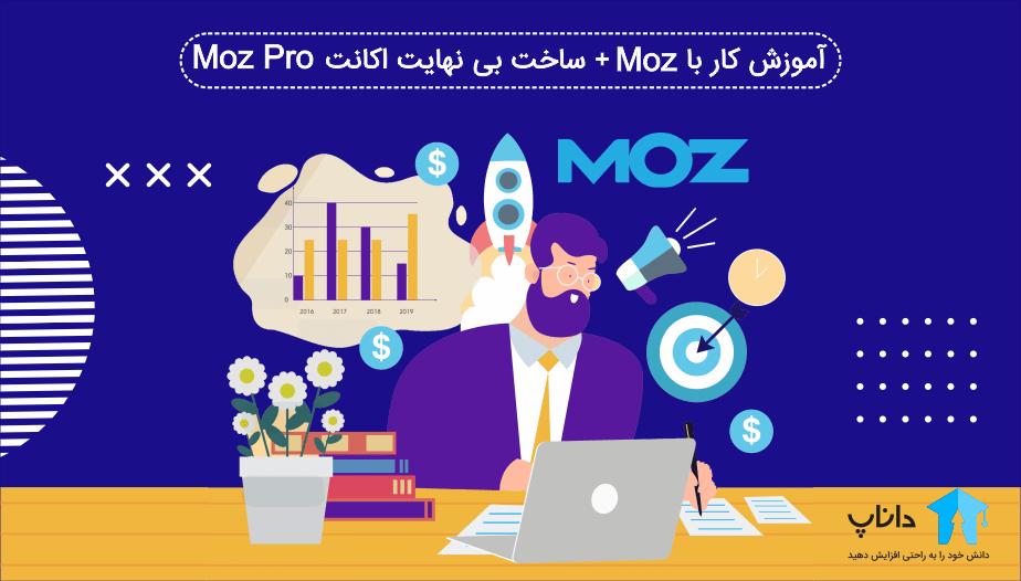 آموزش کار با Moz