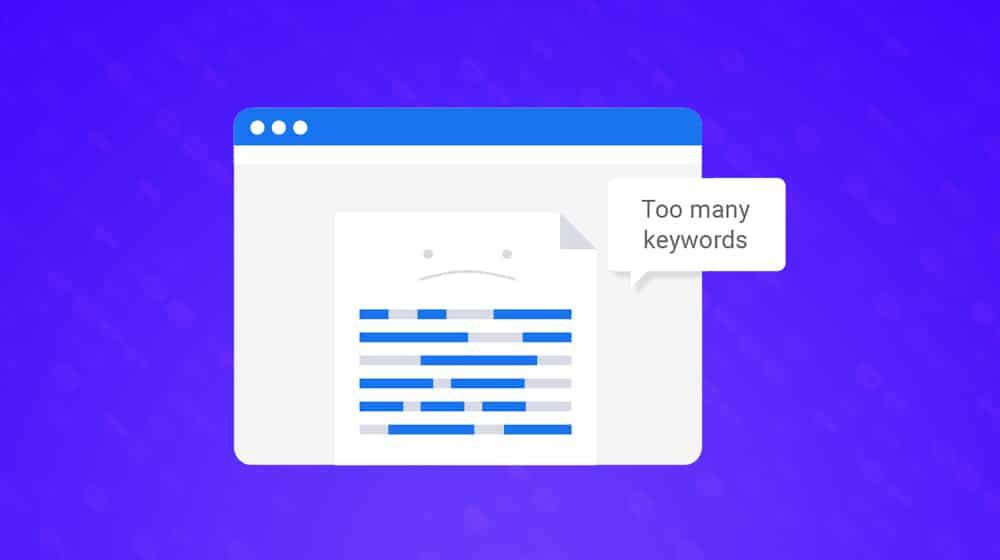 چگالی کلمه کلیدی چیست
